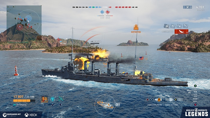 Review – World of Warships: Legends – Inside Indie